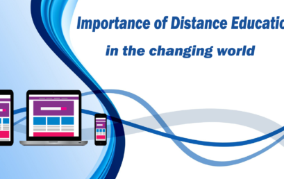 Importance of Distance Education in the changing world