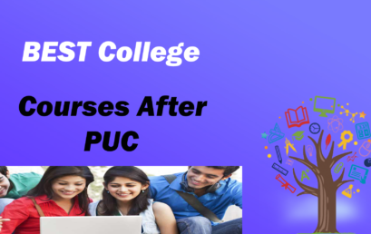 Courses You can take up after PUC to accomplish your higher studies.